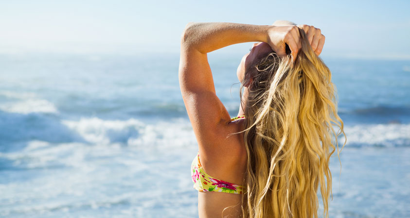 Dealing With Summer Hair Damage