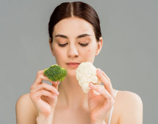 Healthy Foods Acne Treatment