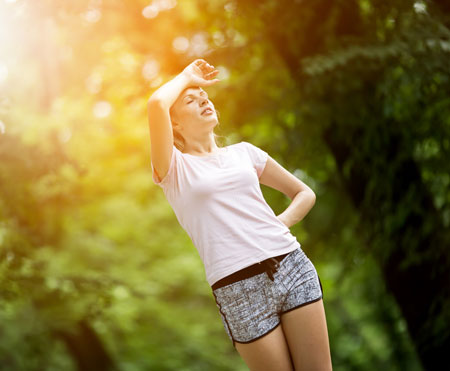 Summer Sweating Breathable Clothing